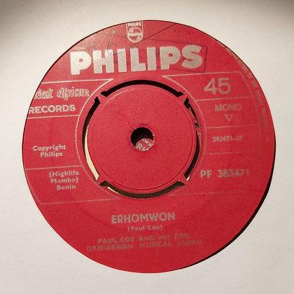 Paul Ede & His Edo Orisiagbon Musical Union - Erhomwon [Philips]