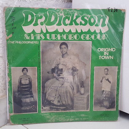 Dr.Dickson & His Urhobo Group - Origho In Town [Coconut]