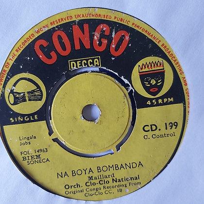 L'Orchestre Clo-Co National – Naboyi Bombanda [Congo Decca]