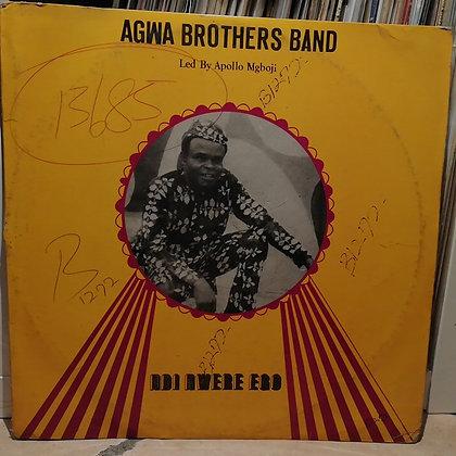 Agwa Brothers Band - Ndi Nwere Ego [EME]