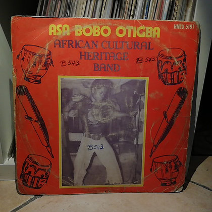 Asa Bobo Otigba African Cultural Heritage Band [His Master's Voice ‎– HNLX 5191]