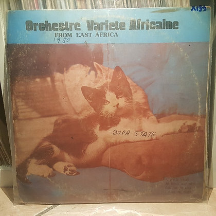 Orchestre Variete Africaine - From East Africa [Disck's Records]