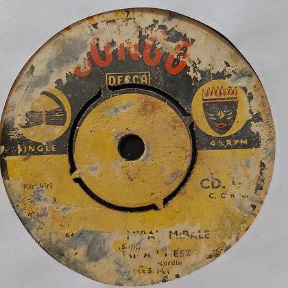 Orch. African Fiesta – Mwasi Ya Mibali Mibale / Pauline La Prefer [Congo Decca]
