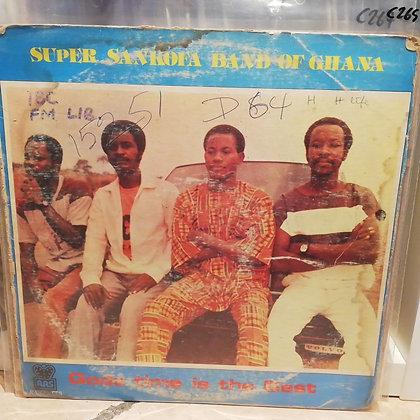 Super Sankofa Band Of Ghana – God's Time Is The Best [RAS – RASLPS 088]