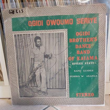 Ogidi Brother's Dance Band Of Kaiama Rivers State – Ogidi Ọwọumọ Seriy