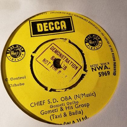 Gometi & His Group - Chief James Ubalegbe [Decca]