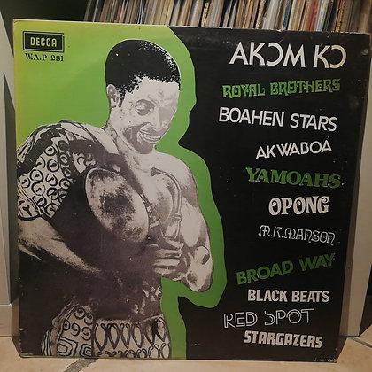 Various – Akom Ko [Decca WAP 281] 1976