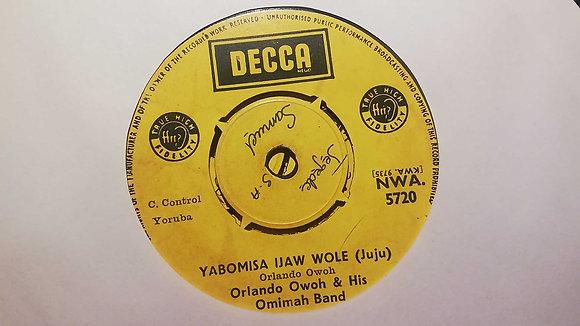 Orlando Owoh & His Omimah Band - Iku Sehin Lehin Mi (Juju) [Decca]