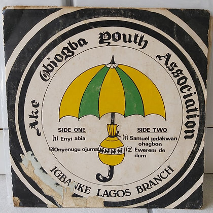 Ake Obiogba Youth Associaton - Igbanke Lagos Branch [Coconut]