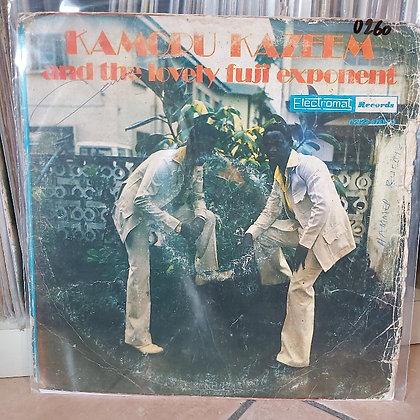 Kamoru Kazeem & The Lovely Fuji Exponent [Electromat]
