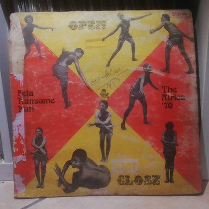Fela Ransome-Kuti And The Africa '70 – Open & Close [HMV]