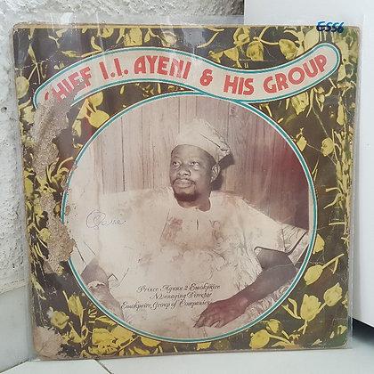 Chief I.I. Ayeni & His Group [Ijebor  Ijebor Records – ITL 041]