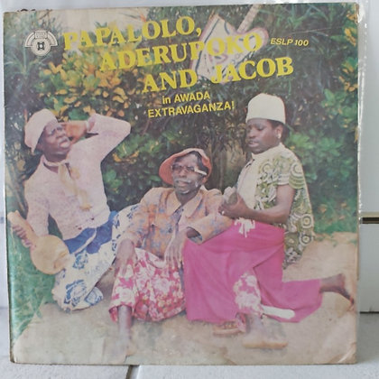 Papalolo Aderupoko & Jacob in Awada Extravaganza [Yinka Esho]