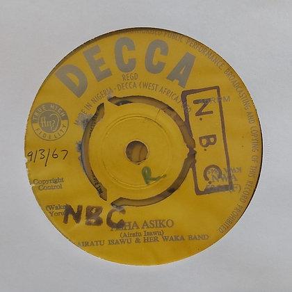 Airatu Isawu & Her Waka Band - Asha Asiko [Decca]
