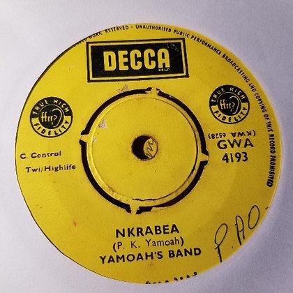 Yamoah's Band – Otanhunu Ye Ya / Nkrabea [Decca]