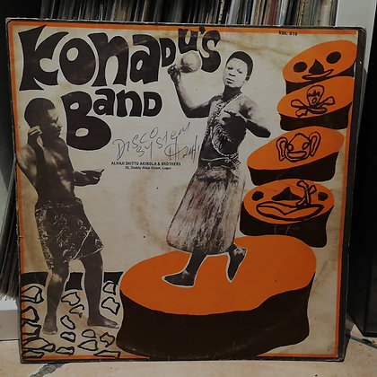 Konadu's Band* – Akɔmu Yε Hu! [Alau Records]