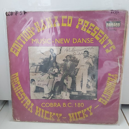 Orchestre Micky-Micky-Bandumba – Cobra B.C. 180 [Namaco]