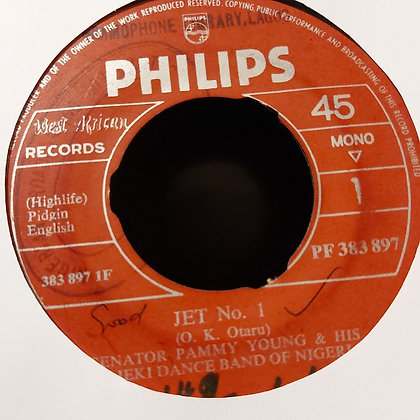 Senator Pammy Young & His Gaieki Dance Band - Jet N°1 [Philips]