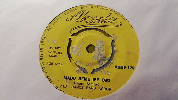 V.I.P. Dance Band Agbor - Madu Beme Ife Ojo [Akpola] Native Blues