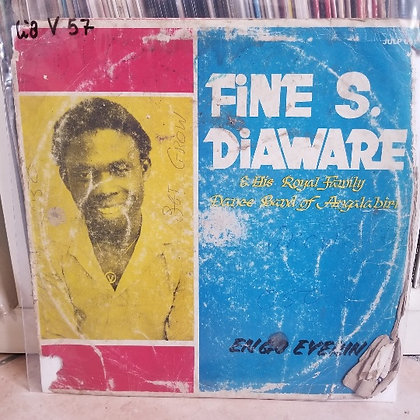 Fine S. Diaware & His Royal Family Dance Band Of Angalabiri ‎– Engo Eyerin