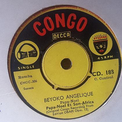 Papa-Noel Et Son Africa - Sanza Ekosila [Congo - Decca]