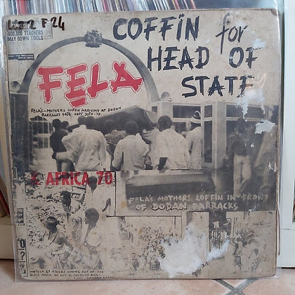 Fela & Africa 70 – Coffin For Head Of State [ Kalakuta Records – KALP 003]