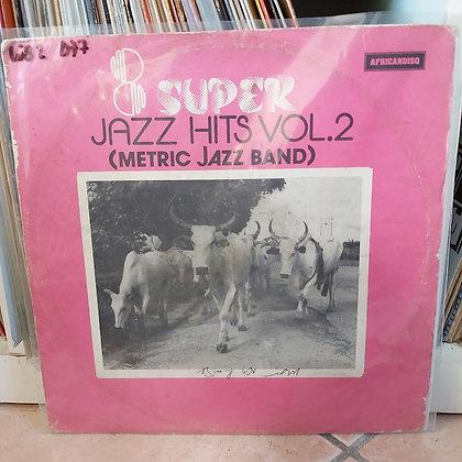 Metric Jazz Band – 8 Super Jazz Hits Vol.2 [Africandisq – RASLP 002]