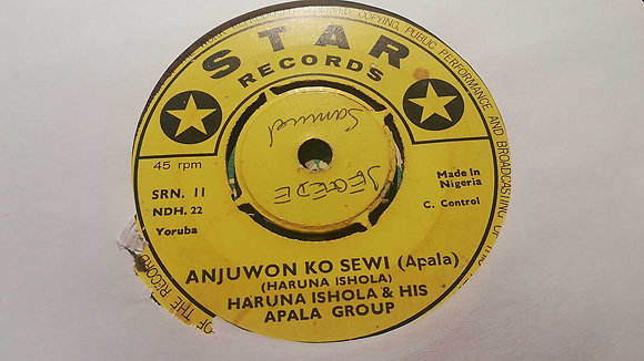 Haruna Ishola & His Apala Group - Alhaji Fasasi Adesina [Star Records]