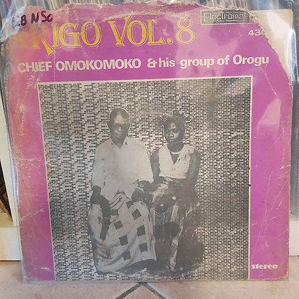 Chief Omokomoko & His Group - Arigo Vol 8 [Electromat]