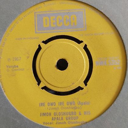 Jimoh Oloshugbo & His Apala Group - Saibu Atanda [Decca] NWA 5352