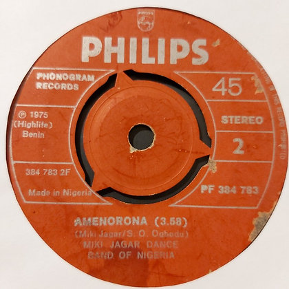 Miki Jaga Dance Band - Amenorona [Philips]