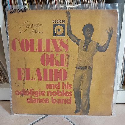 Collins Oke Elaiho & His Odoligie Nobles Dance Band  ‎– Super Sound Of Akaba