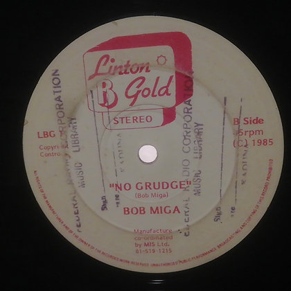 Bob Miga – I Found Out [Linton B Gold – LBG 1]