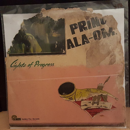 Prince Ala Oma ‎– Lights Of Progress [Golden Fox Records – GFXLP 001]
