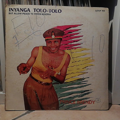 Prince Brendy – Inyanga Tolo-Tolo [J.J.D. Records – JJD 035]