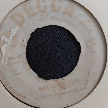 Orlando Owoh & His Omimah Band - Ole Darun [Decca] NWA 5314