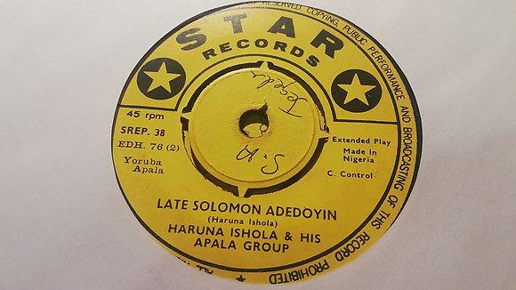 Haruna Ishola & His Apala Group - Alaye Oro Lorin Tiwa [Star Records]