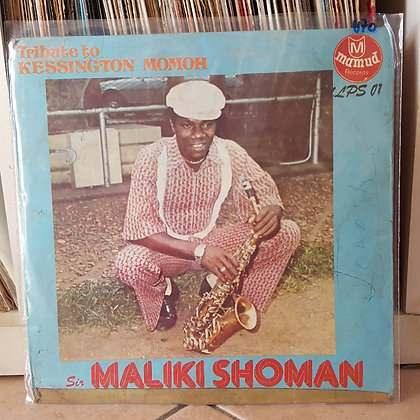 Sir Maliki Showman And His Joggae Super Sound International ‎– Tribute To Kessin