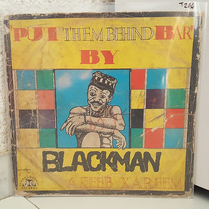 'Blackman' Akeeb Kareem ‎– Put Them Behind Bar [ Lanre Adepoju Records]