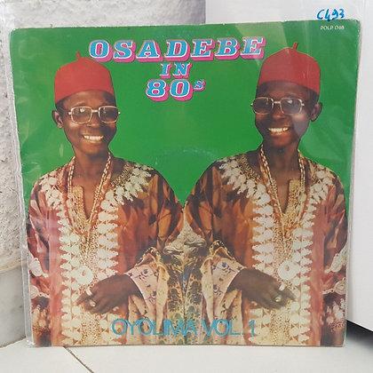 Chief Osadebe In 80's - Oyolima Vol. 1 [Polydor – POLP 048]