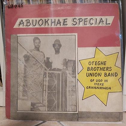 Oteghe Brothers Union Dance Band Ugo Niyekorhionmwon – Abuokhae