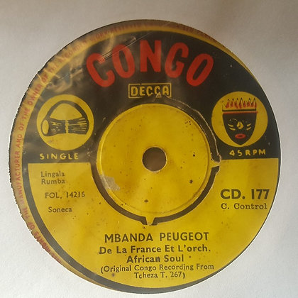 Sangana Mizele Et Chantal Et L'Orch. African Soul - Mpr Miso Ga [Congo Decca]