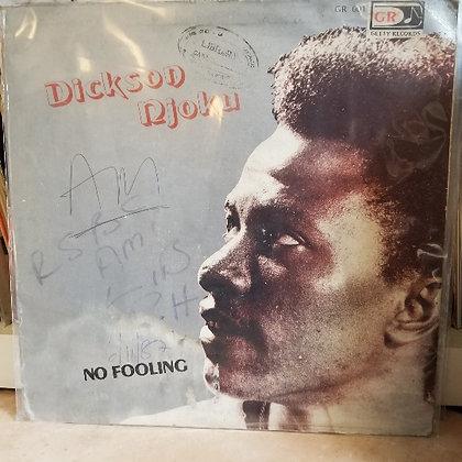 Dickson Njoku – No Fooling [Getty Records – GETTY 001]
