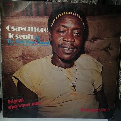 Osayomore Joseph - Original Who Know Man Arrangee No.1 [Polydor]