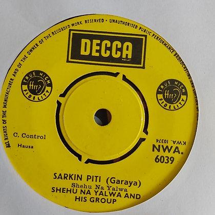 Shehu Na Yalwa - Barahaza [Decca] Hausa Garaya