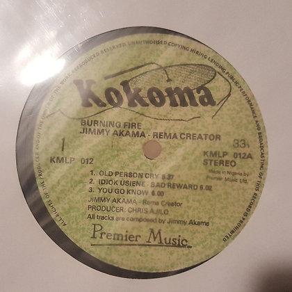 Jimmy Akama - Burning Fire [Kokoma] Pre-Release