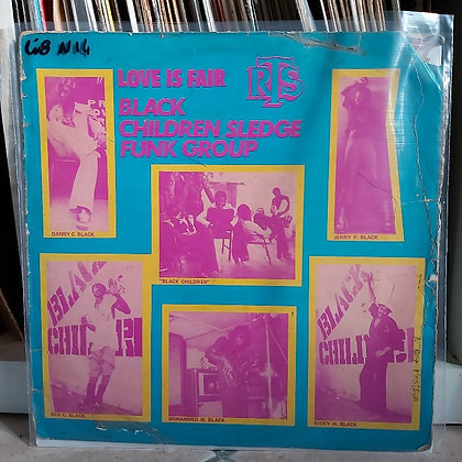 Black Children Sledge Funk Group – Love Is Fair [RTS]