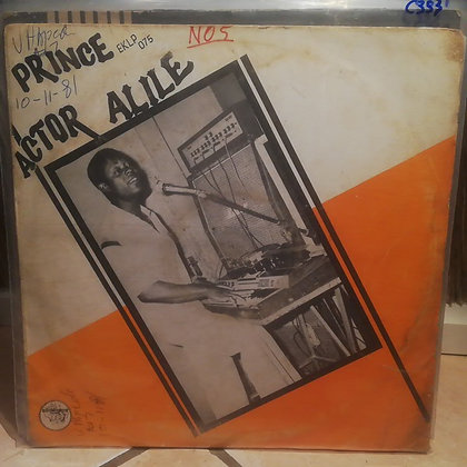 Prince Actor Alile [ Ekimogun – EKLP 075] 1979