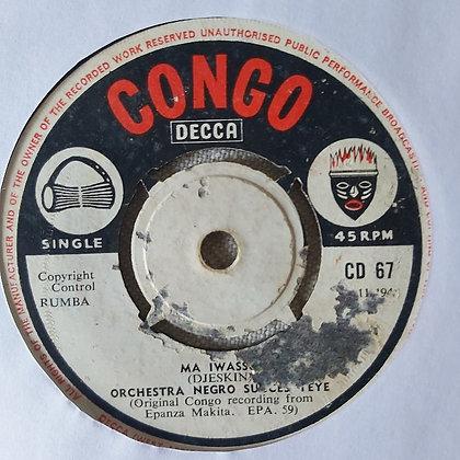 Orch. Negro Succes – Bolingo Nzo Etumbu [Congo Decca]