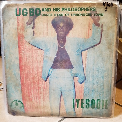 Ugbo And His Philosophers Dance Band Of Urhoniegbe Town ‎– Iyesogie [Emperor]
